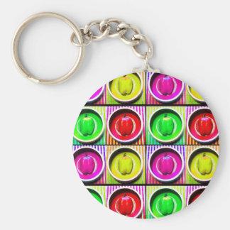 Pfeffer-Regenbogen Schlüsselanhänger