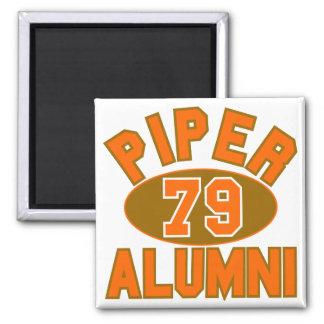 Pfeifer erstklassig vom 1979 Schüler-Wiedersehen Quadratischer Magnet