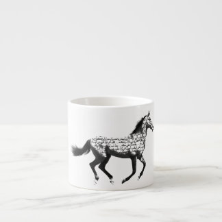 Pferd Espressotassen