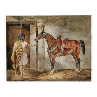 Pferd (Ost) durch Theodore Gericault Postkarte