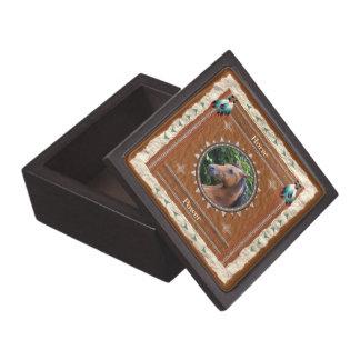 Pferd - Power Holz-Geschenkboxen Schmuckkiste