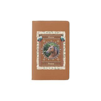 Pferd - Power Notizbuch-Moleskin-Abdeckung Moleskine Taschennotizbuch