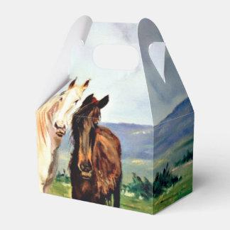 Pferde/Cabalos/Horses Geschenkschachtel