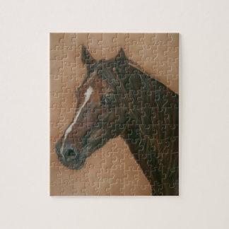 Pferdeartige Kunstmalerei des Puzzle