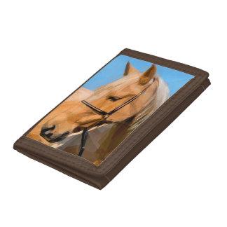 Pferdebrown-Geldbörse