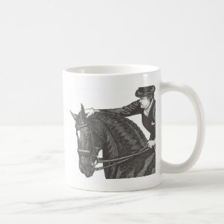 Pferdekunst GUTER JOB! Dressage Pat Kaffeetasse