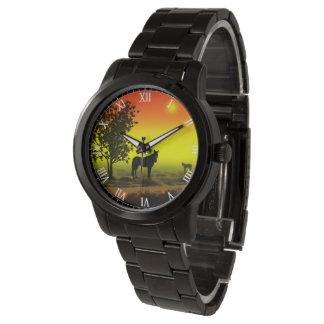 Pferdeliebhaber-Uhr Uhr