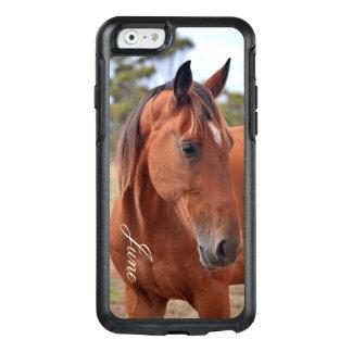 Pferdemonogramm OtterBox iPhone 6/6s Hülle