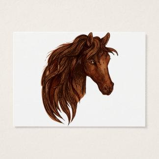Pferdepferdesport Jumbo-Visitenkarten