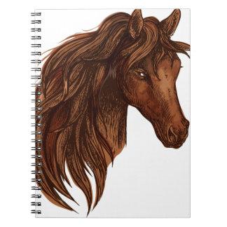 Pferdepferdesport Notiz Buch