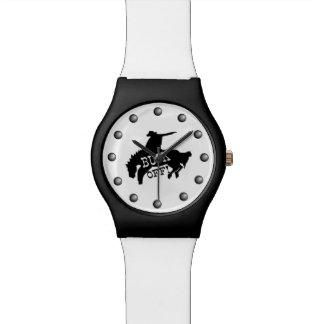 Pferdereiter sagt Dollar weg Uhr