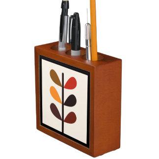 Pflanzen-abstrakter Herbst Stifthalter
