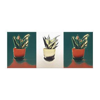 Pflanzen-Malerei Leinwanddruck