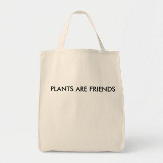 Pflanzen sind Freund-Tasche Tragetasche
