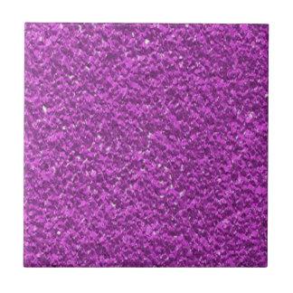 Pflaumen-lila Imitat-Glitter-Beschaffenheit Fliese