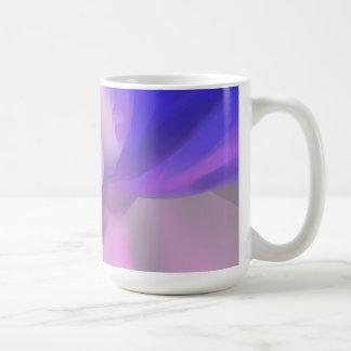 Pflaumen-Saft-Pastellabstraktes Tasse