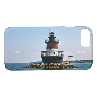 Pflaumen-Strand-Leuchtturm, Rhode Island iPhone iPhone 8/7 Hülle