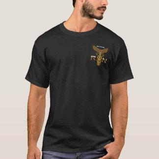 Pflegen Sie Männer alle Arten DUNKLE Ansicht, die T-Shirt