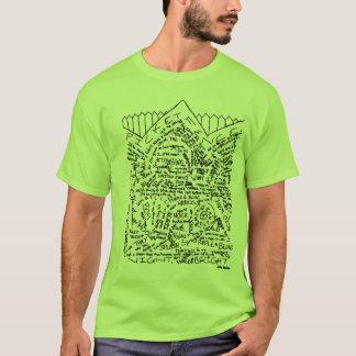 """""""Pfosten-Zaun-"""" Lyrical T - Shirt (Normallacke)"""