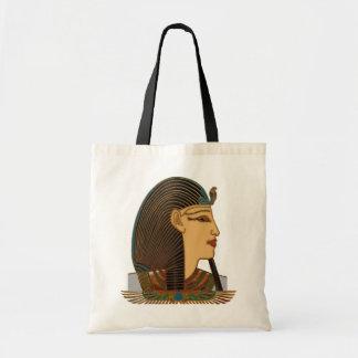 Pharao-Ägypter-Volkskunst Tragetasche