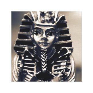 Pharao-ägyptische alte Statue-Grab-Kunst-Leinwand Gespannter Galerie Druck