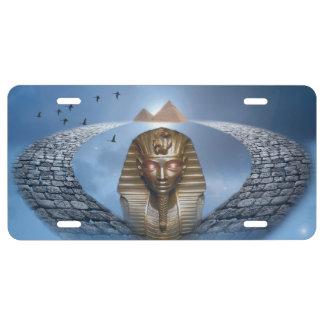 Pharao-Fantasie-Kfz-Kennzeichen US Nummernschild