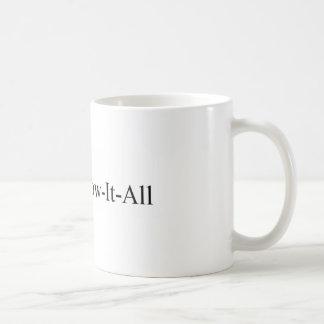 PhD-Frauen-Abschluss, Dr. Wissen-Es-All Mug Tasse