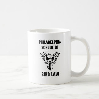 Philadelphia-Schule des Vogel-Gesetzes Kaffeetasse