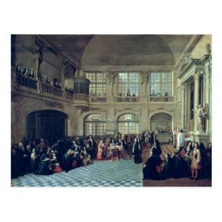 Philippe de Courcillon Marquis von Dangeau Postkarte