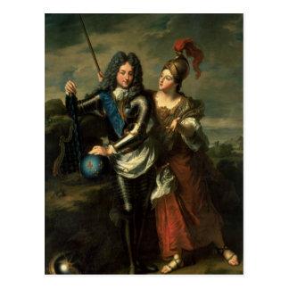 Philippe II d'Orleans der Regent von Frankreich Postkarte