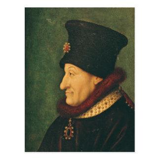 Philippe von Frankreich-Herzog von Burgunder Postkarte