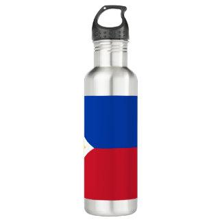 Philippinen-Flagge Edelstahlflasche