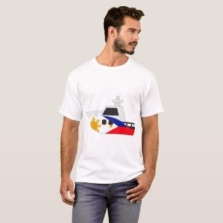 Philippinen-Flaggen-Boot T-Shirt