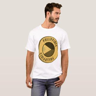 Philippinen-Flaggen-Goldmünze T-Shirt