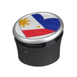Philippinen-Flaggen-Herz Lautsprecher