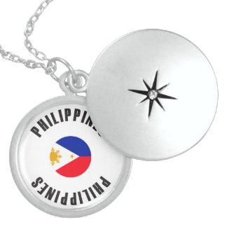 Philippinen-Flaggen-Rad Anhänger