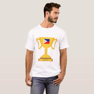 Philippinen-Flaggen-Trophäe T-Shirt