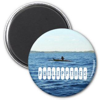 Philippinen-Insel Runder Magnet 5,7 Cm