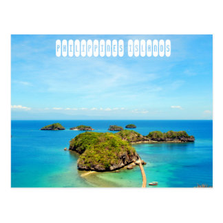Philippinen-Inseln Postkarte