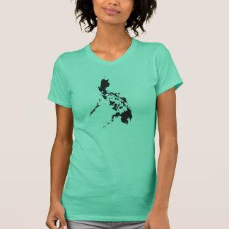 Philippinen-Karte T-Shirt