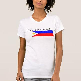 Philippinen-Landesflaggenationssymbol T-Shirt