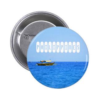 Philippinen Runder Button 5,1 Cm