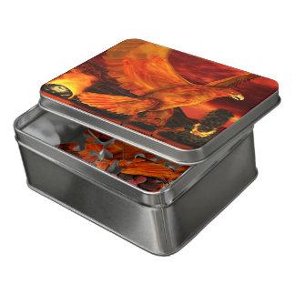Phoenix-Feuer der Mythos-Reihen-3 Puzzle