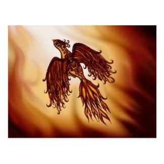 Phoenix-Fliege Postkarte