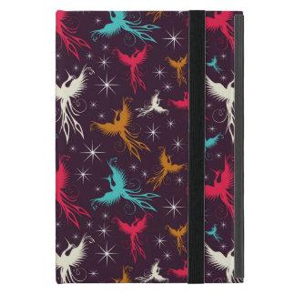 Phoenix-Vogel-Zahl Muster iPad Mini Etui