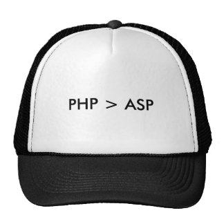 PHP Asp - Hut Baseballmütze