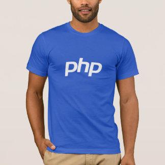 PHP-T - Shirt (blau)