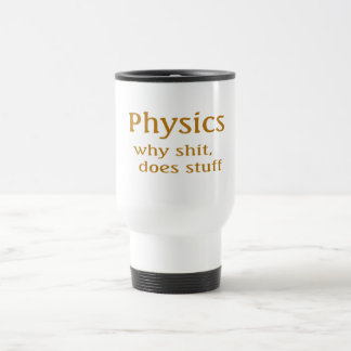 Physik-Spaß Edelstahl Thermotasse