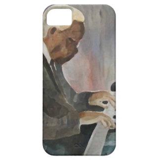 Pianiste Originaler Jazz Oils Artwork iPhone 5 Hüllen