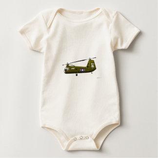 Piasecki UH-25 Armee-Maultier Baby Strampler